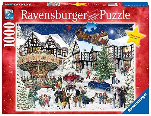 """Ravensburger 15359"""" Verschneites Weihnachtsdorf Puzzle"""