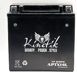 12V 12Ah Battery for Harley-Davidson 883 XL, XLH 2016