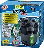 Tetra Aquarien Außenfilter EX 600 Plus (leistungstarker Filter für Aquarien von 60-120 L, Komplettset mit Ansaughilfe zum Schnellstart und Filtermedien)