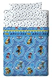 Viacom Paw Patrol Calling Bed Sheets, algodón-poliéster, Blue, 80/95 (Twin), 200.0 x 90.0 x 25.0 cm, Pack of 3