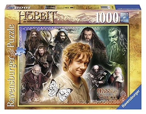 Ravensburger 19081 - Puzzle The Hobbit: Compagni fedeli, 1000 Pezzi