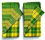 Madhuri Creation Towel Gamcha - 200 cm x...
