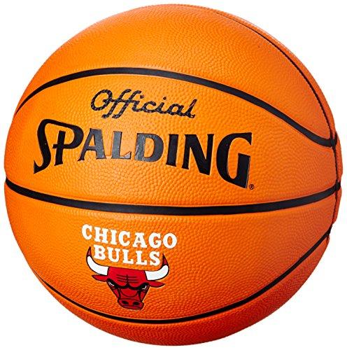 Spalding - pallone da basket giocatore joakim noah, arancione (arancione), 7