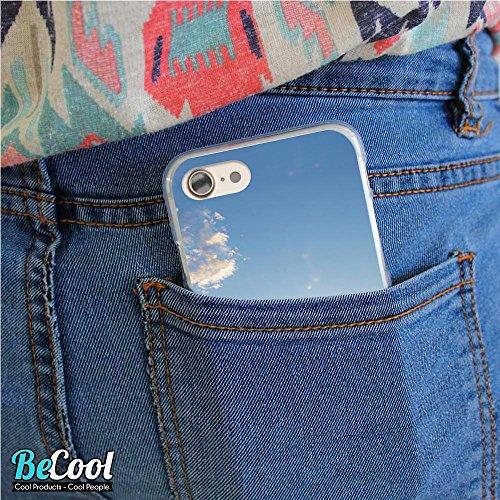 BeCool®- Coque Etui Housse en GEL Flex Silicone TPU Iphone 8, Carcasse TPU fabriquée avec la meilleure Silicone, protège et s'adapte a la perfection a ton Smartphone et avec notre design exclusif. Fro L1238