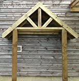 Wooden Porch Canopy & Stilts