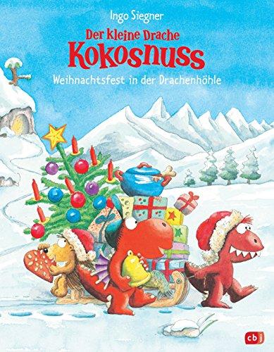 Der kleine Drache Kokosnuss - Weihnachtsfest in der Drachenhöhle (Bilderbücher 8)
