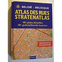 Atlas des rues de Belgique - 101 plans en français-néerlandais