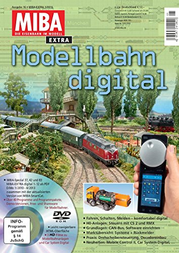 Preisvergleich Produktbild Modellbahn digital 16 mit DVD - MIBA Extra 1/2016