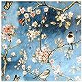 Wachstuch Tischdecke Gartentischdecke Abwaschbar Vogel Motiv gemalt - Größe wählbar von Moderno bei Gartenmöbel von Du und Dein Garten