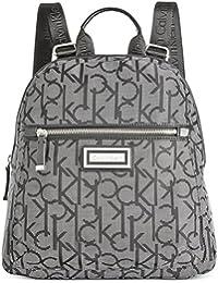 Calvin Klein - Bolso mochila  para mujer negro Black Dot Logo