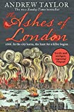 The Ashes of London by Andrew Taylor front cover