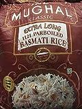 IND Mughal Classic Extra Long parboild Basmati Rice Gekochter Reis Riso Riz- 5 kg