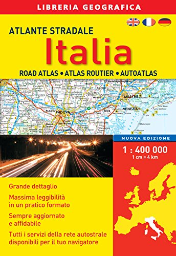 Atlante stradale Italia 1:400.000. Con Contenuto digitale per download e accesso on line