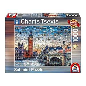 Schmidt Spiele London Puzzle - Rompecabezas (Puzzle Rompecabezas, Ciudad, Adultos, London, Hombre/Mujer, 12 año(s))