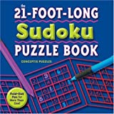 The 21-foot-long Sudoku Puzzle Book: Fold-out Fun for More Than One