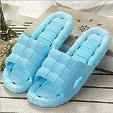 Unisex Badezimmer Dusche Hausschuhe Anti-Skiding Sunmmer Damen Sandalen Soft Foams Sole Pool Herren Schuhe Kaufen Sie 2 erhalten 1 frei , blue , 38/39