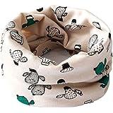 Cosanter Bufanda para niño, Pañuelo de cuello de Algodón para otoño e invierno 40 x 20 cm