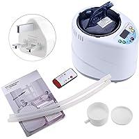 Sauna Steamer Portable Sauna Machine Sauna Generator Pot 2Liters for Home SPA Shower, Body Therapy, Face Beautifying (UK Plug)
