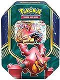Pokemon 25871 - PKM Tin 62 Vulcanion, Sammelkartenspiel