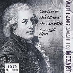 Mozart's Operas: Cosi Fan Tutte / Don Giovanni / The Magic Flute / Le Nozze di Figaro