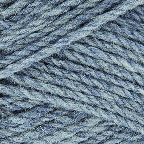 Rowan pure wool superwash dk Farbe 105 - flint 100% Schurwolle (Merino) zum Stricken & Häkeln (Dk-garn Wool Rowan Pure)