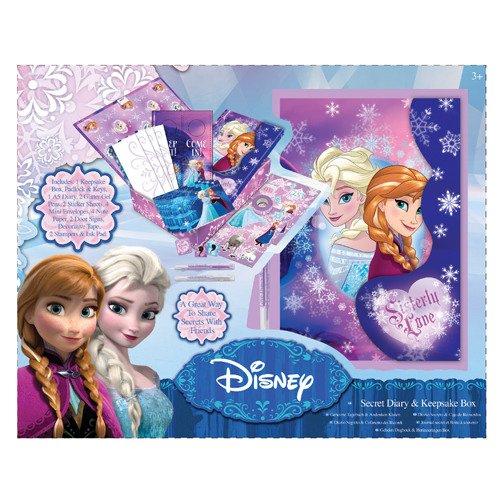 Disney dfr3-5022-Frozen geheimes Diario Plus Reminder Box, Multicolor
