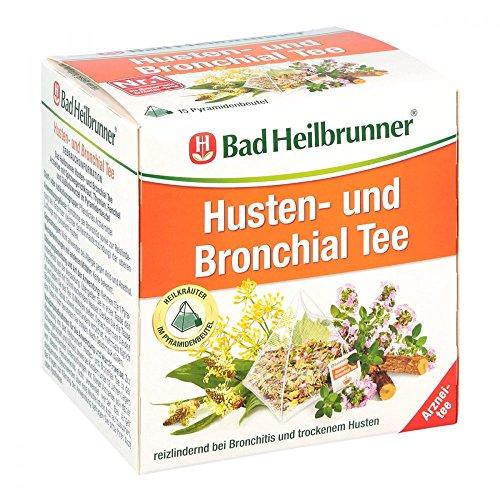 Bad Heilbrunner Tee Husten und Bronchial, Pyramidenbeutel, 1er Pack