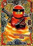 LEGO Ninjago Serie 3 Spinjitzu Meister Kai LE2 limitierte gold Karte Auflage Trading Card NEU