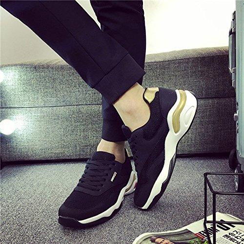 LVZAIXI chaussures Chaussures De Marée Version Coréenne Baskets Marée Chaussures De Sport Pour Hommes Chaussures De Course Coussin D'air De Grande Taille douillet