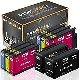 8X Druckerpatronen Komp. für hp 932xl 933xl 932 XL 933 XL mit HP Officejet