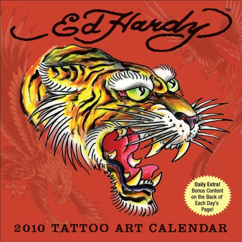 Ed Hardy Tatto Art 2010 Calendar
