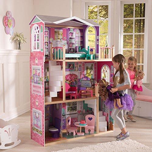 Заказать кукольный домик с мебелью