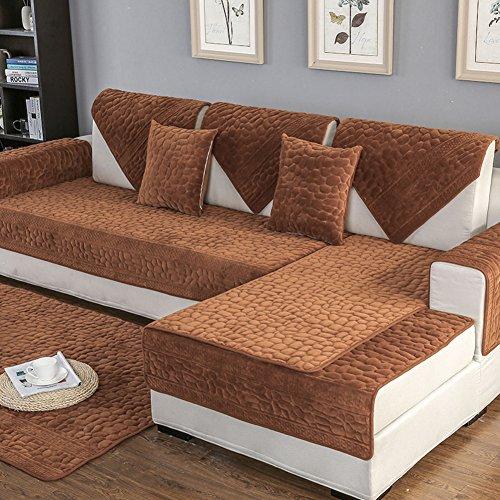 Copridivano salvadivano per divano con penisola/stretch sedile sedia coperture divano fodera per divano loveseat coprire 13 colori disponibile per 1 2 3 4 quattro persone divano -1 pezzo-e 90x210cm(35x83inch)