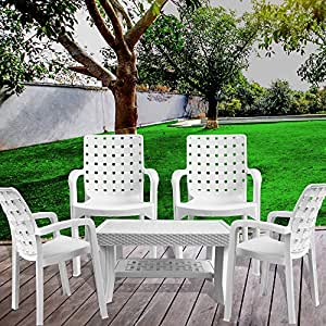 Italica Furniture Armchair And Table Combo Indoor And Outdoor