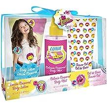 Soy Luna Gift Set Eau De Toilette Profumo Box Gel Doccia e Lozione Corpo - 3 pezzi
