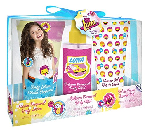 SOY LUNA Disney 3 - teiliges Beauty-Set bestehend aus Eau de Toilette (100 ml), Duschgel (95 ml) und Bodylotion (95 ml), 1er Pack (1 x 1 Stück)