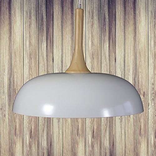 Moderne Pendelleuchte Hängeleuchte Küchenlampe Ahorn Buche Kiefer look seidenglanz lackiert13077