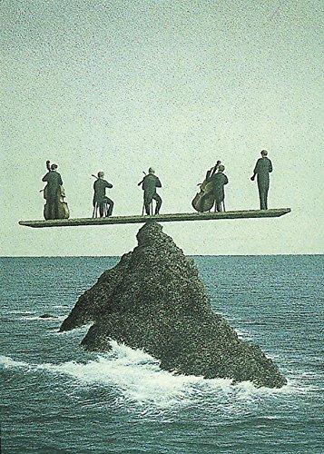 Postkarte A6 • 2817 ''Das Quintett'' von Inkognito • Künstler: Quint Buchholz • Fantastik