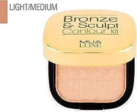 Makeup Academy Mau Luxe Bronze and Sculpt Kit, Light/Medium, 20g
