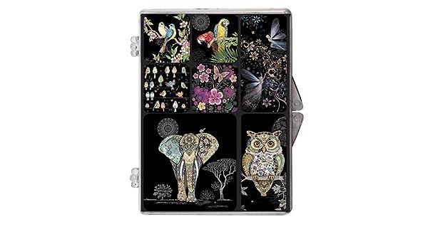 MAGR03C10 KIUB Magnet Rond Bug Arts Jewels Poisson