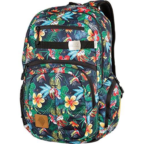 Nitro Rucksack Hero, Schulrucksack, Schoolbag, Daypack, paradise, 52 x 38 x 23 cm, 37 L