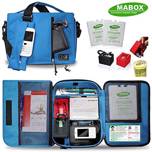Diabetiker - Tasche MABOX DIABETES Ein isoliertes Fach für Insulin Pen und Pumpe . Oder Stift 12-Stunden zwischen 2 - 8 ° C Gesundheitsnorm NF S 99 700