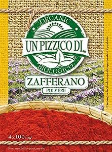 Un pizzico di Zafferano in Polvere - Confezione da 4 Bustine x 100 mg