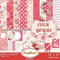 "CrafTreat Paper Pack - Ever Yours 12""x12"""