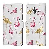 Offizielle Haroulita Flamingo Muster Brieftasche
