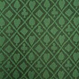 Stalwart 3 Yards of Suited Waterproof Poker Table Cloth, Emerald Green