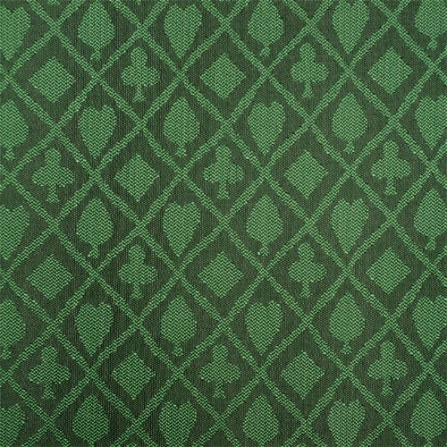 (Stalwart 3 Yards of Suited Waterproof Poker Table Cloth, Emerald Green)