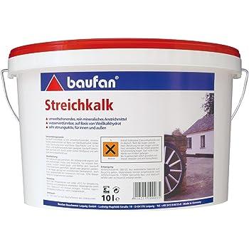 Baufan 100035 Streichkalk, Weiß