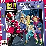 Die Drei !!!: 052/das Rote Phantom (Audio CD)