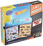 #8: Sterling Hot Wheels 2 in 1 Puzzles, Multi Color